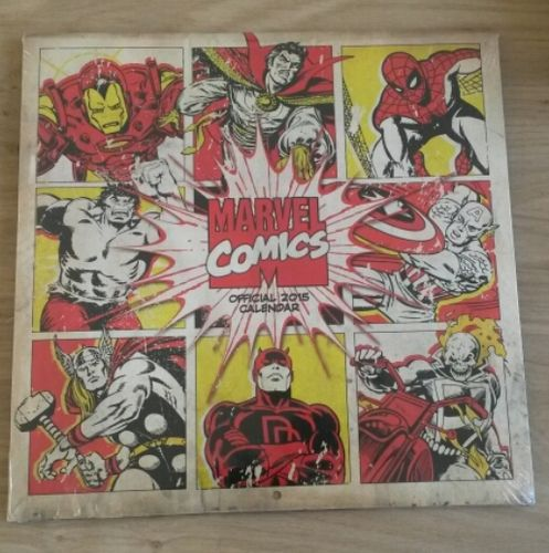 Marvel Comics Official 2015 Calender NIEUW