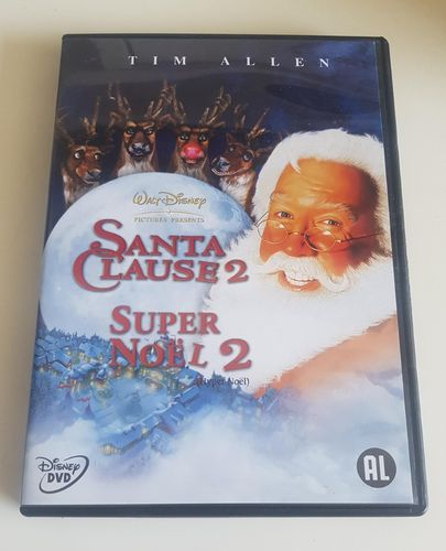 Disney Santa Clause deel 2 DVD