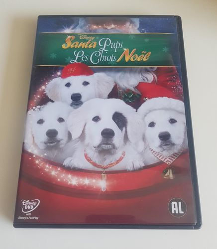 Santa Pups Disney DVD