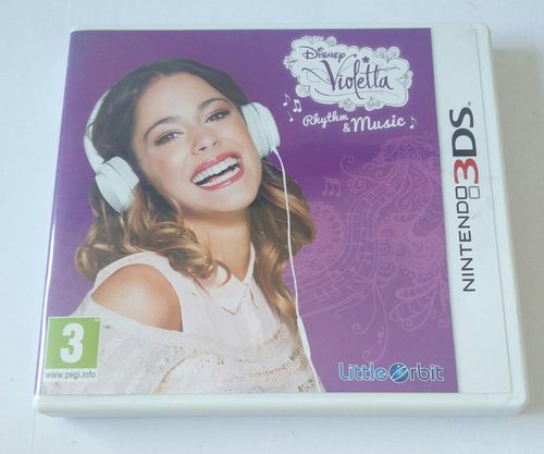 Disney Violetta Rhythm & Music 3DS spel
