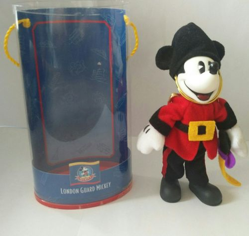 Mickey Mouse London Guard Plush Collectibles