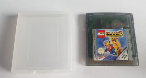 Lego Eiland2 Gameboy Color losse cartridge in beschermhoesje