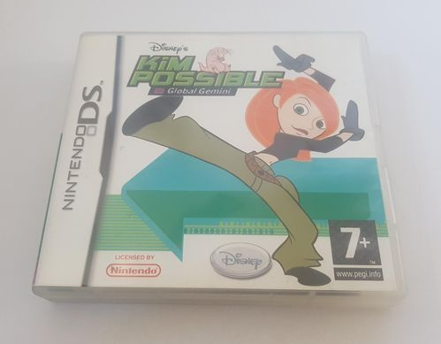 Disney's Kim Possible Global Gemini DS spel incl. boekje