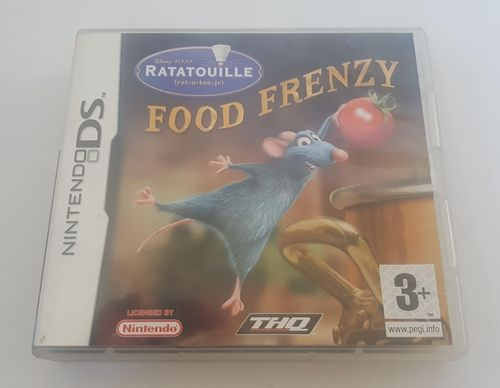 Disney's Ratatouille Food Frenzy DS spel incl. boekje